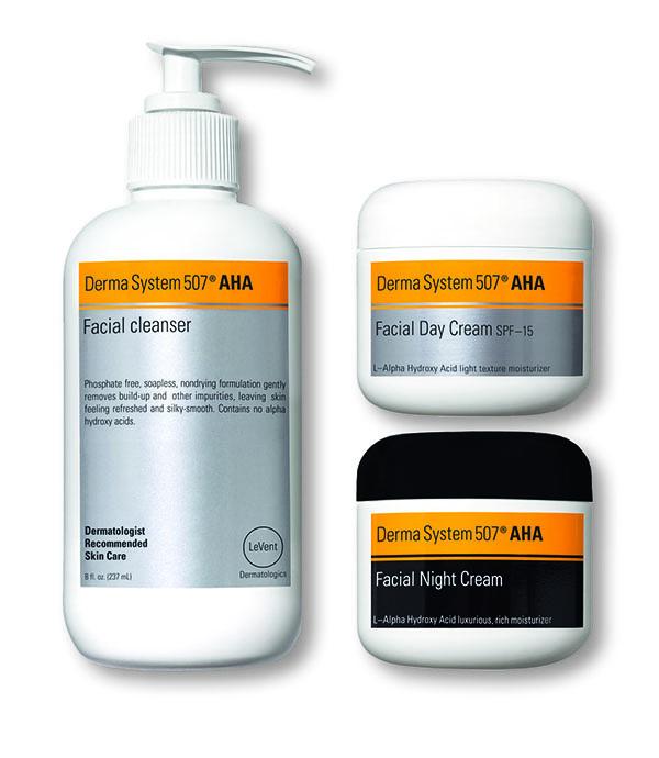 Derma system 507 AHA-produkter